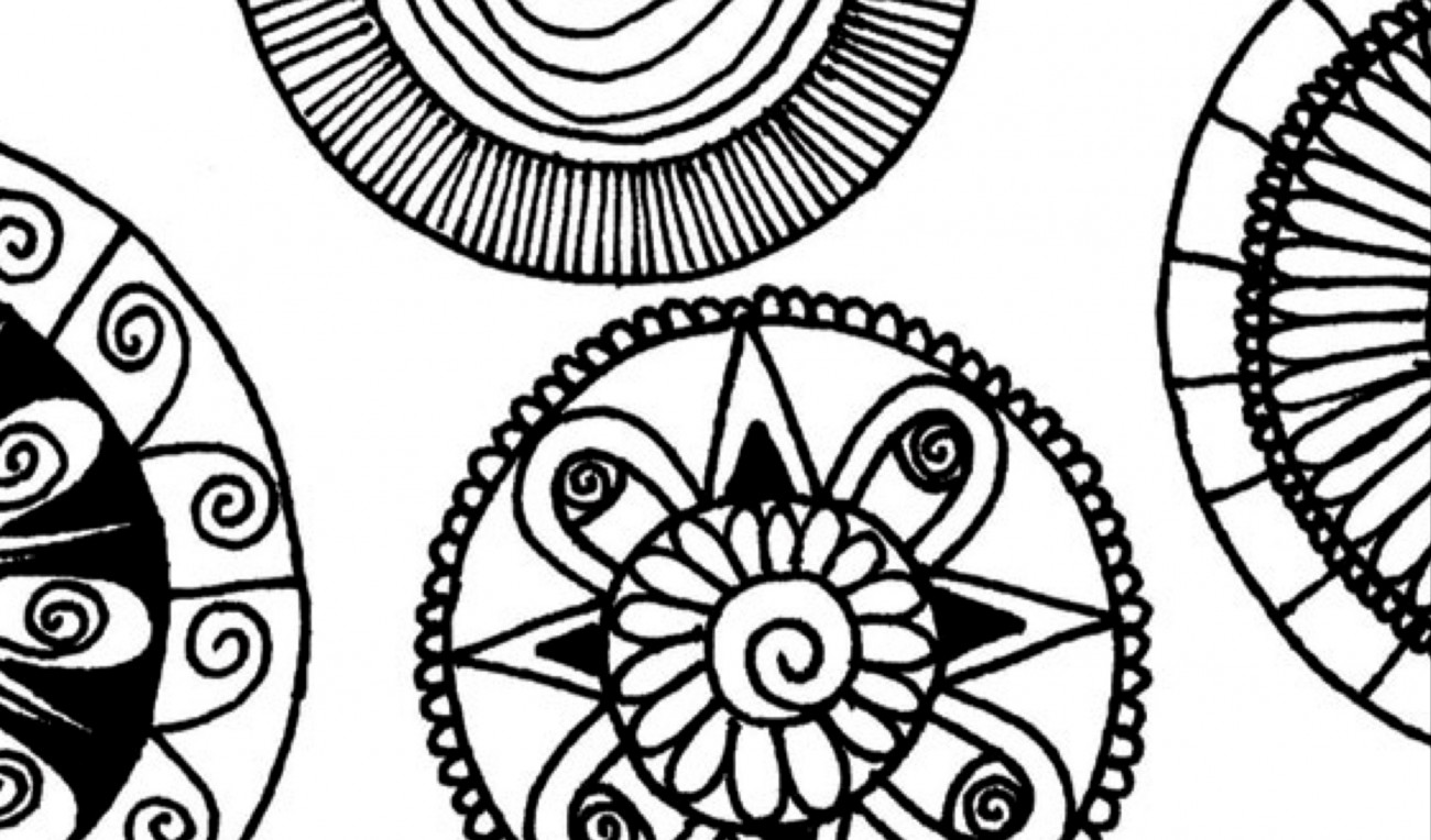 Mandala Colour In
