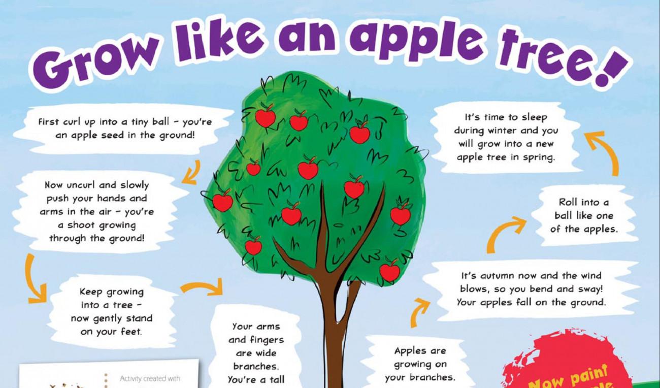 Grow Like an Apple Tree
