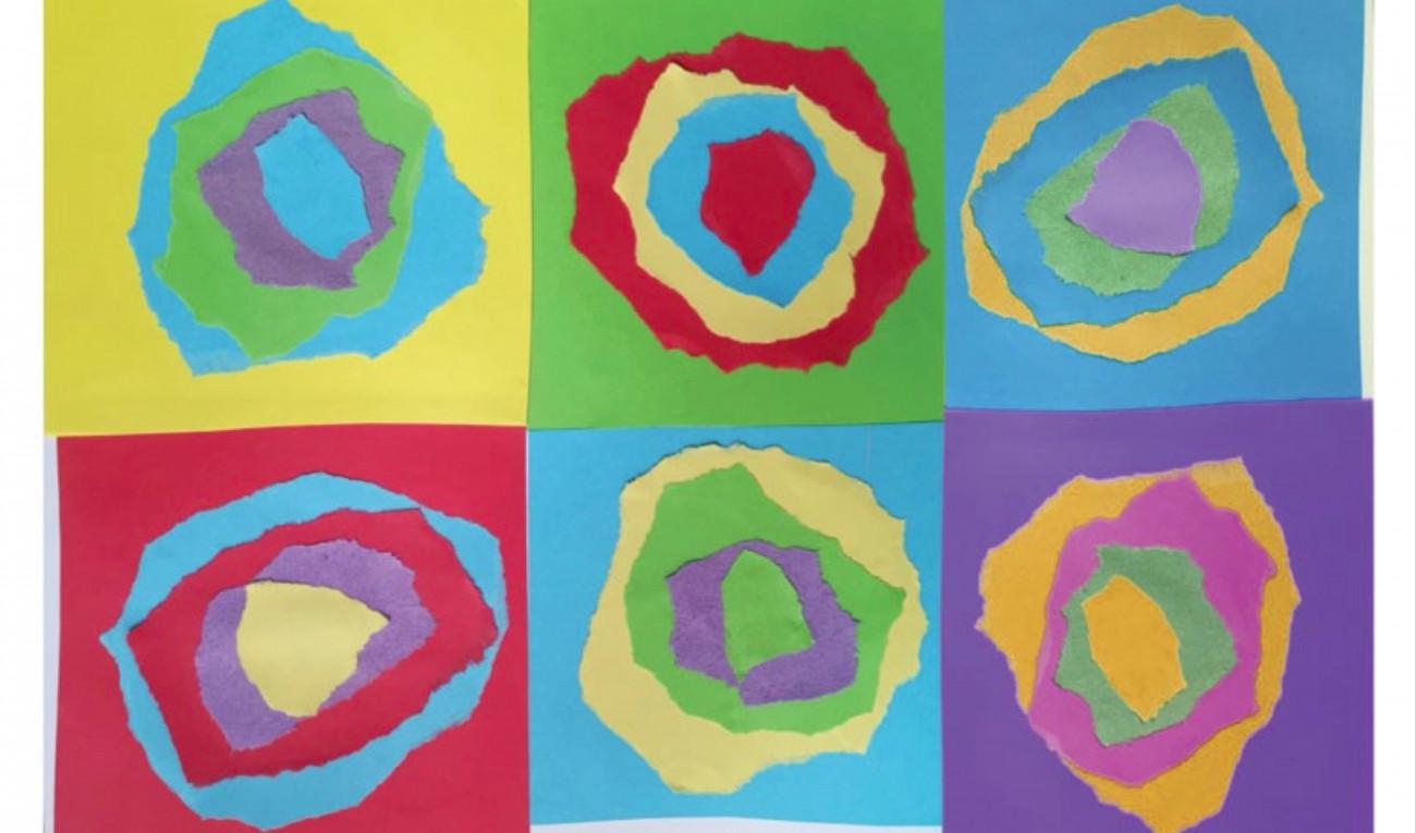 Paper Kandinsky Circles